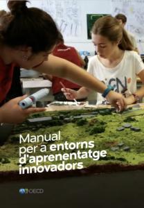 Portada del Manual per a entorns d'aprenentatge innovadors (OCDE, 2017)