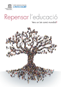 Portada de Repensar l'educació (2015, UNESCO)
