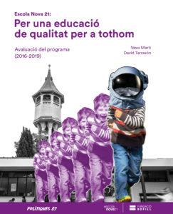 """Portada del llibre """"Per una educació de qualitat per a tothom"""""""
